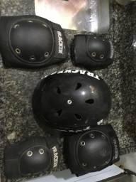 Kit de proteção para bike ou skate
