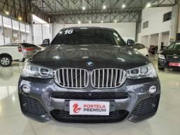 BMW X4 3.0 M SPORT 35I 4X4 24V TURBO GASOLINA 4P AUTOMÁTICO - 2016