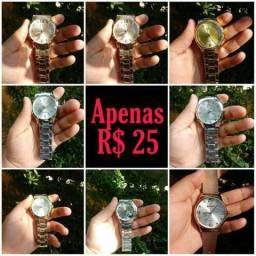 Relógios femininos apenas 25 reais