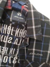 Camiseta Xadrez John John (original)