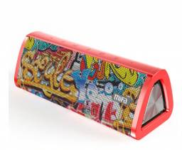 Caixa de som bluetooth Mifa A10+ A10 plus 20w Vermelha