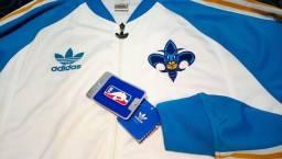 Linda Jaqueta NBA Hornets Original Adidas! Nova, Na Etiqueta! Importada dos EUA!