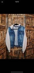Moletom/Jaqueta jeans