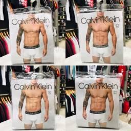 Cuecas Calvin Klein Boxer CK Kit com 10 Cuecas a escolha R$99,99 - Entregamos!!!