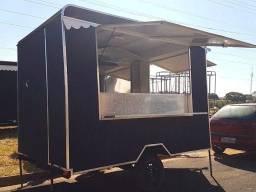 Trailer food truck novo
