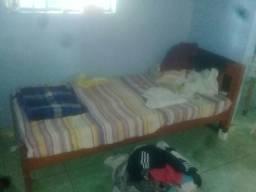 Cama solt. e colchão 50 reais