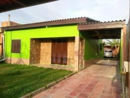 Casa com 3 dormitórios à venda, 100 m² por r$ 150.000 - centro - balneário pinhal/rs
