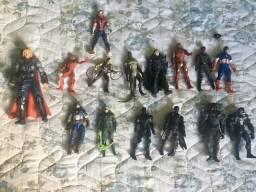 Bonecos super heróis originais