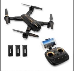 Drone Visuo Xs812 3baterias GPS camera 1080p 5mp