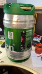 Barril da Heineken com som e bateria 12x