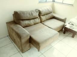 Sofa 3 lugares retratil