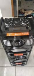 Vendo caixa amplificada Lenoxx 1000W