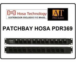 Regua Patch Hosa Pdr369 Balanceado 12 Vias Xlr Loja Patchbay