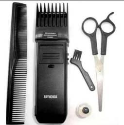 Maquina Aparador De Barba, Cabelo, Bigode E Cavanhaque- Recarregável