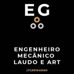 Engenheiro Mecânico Laudo e ART na Bahia