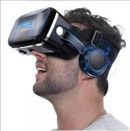 VR Shinecon (Novo) - Óculos Realidade Virtual + Controle de Brinde