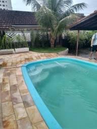 Casa Mongaguá com piscina perto praia