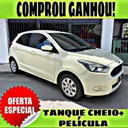 TANQUE CHEIO SO NA EMPORIUM CAR!!! FORD KA SE 1.0 2015 COM MIL DE ENTRADA