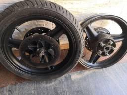 Rodas e freios