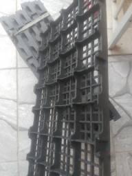 Paletes palletes estrado plástico de alta resistência até 3 toneladas por metro quadrado