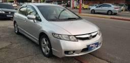 Honda Civic Lxs 1.8 flex 16v 5p Mec + Gnv 16 Mts Ano 2010 Completo