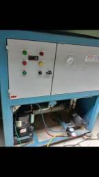 Manutenção refrigeração industrial Chiller