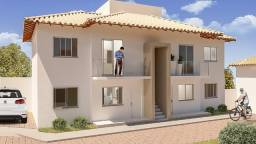 Casa Geminada a venda de 02 quartos no Centro de Santa Luzia