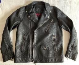 Jaqueta Ellus Mamute Leather Denim Perfecto XLV.