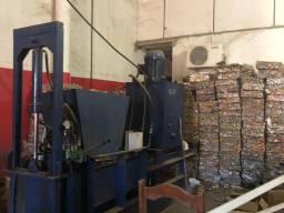 Máquina de prensa alumínio