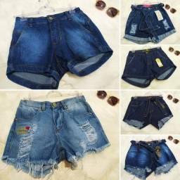 Short Jeans feminino shortinhos