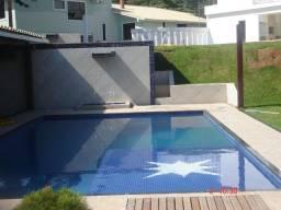 Promoção de piscinas com iluminação em fibra óptica