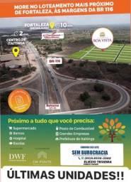 Loteamento à 10 minutos de Fortaleza, com infraestrutura completo!