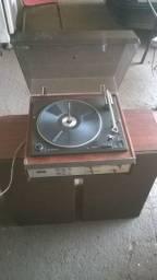 Toca Disco Philips com caneta para vários discos