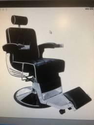 Cadeira Barbeiro Reclinável Arizona