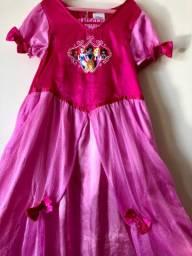 Vestido princesas Disney 7 anos