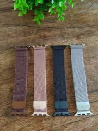 Pulseiras de Aço Inoxidável para Apple Watch são os acessórios que faltavam!
