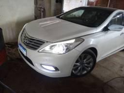 Hyundai AZERA 2012 Branco TOP c/teto
