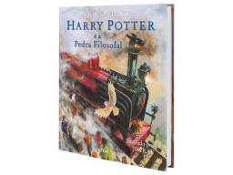 Harry Potter livro ilustrado