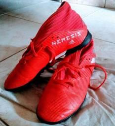 Chuteira society Adidas original n35
