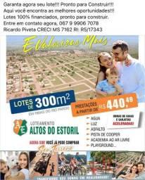 Lote 100% financiado!! em Ribas do Rio Pardo MS