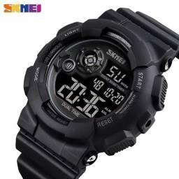 Título do anúncio: Relógio Militar S-shock Skmei 1583 digital Black full A prova D'água ENTREGA GRÁTIS*