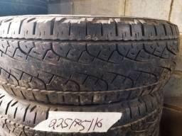 Pneus 225/75/16 Pirelli Scorpion valor do par 360.00$