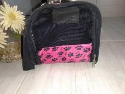 Bolsa para carregar cão é gato