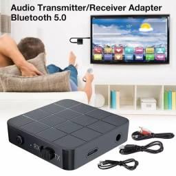 Receptor e transmissor de áudio Bluetooth 5.0