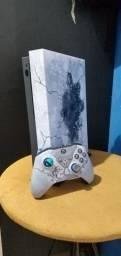 Xbox one x edição limitada do gear 5