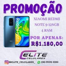 Redmi Note 9 128GB lacrado