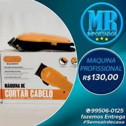 Maquina De cortar Cabelo Knup Qr-8918 Amarelo(fazemos entrega)