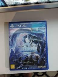 Troca Monster Hunter ps4