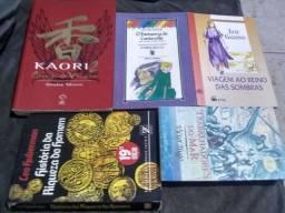 Livros diversos kit por R$20