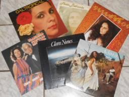 LPs - Gal/Bethania/Clara Nunes (Liquida: 6 LPs)